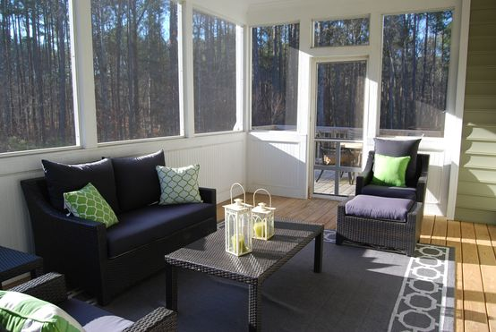 Types of sunrooms at home