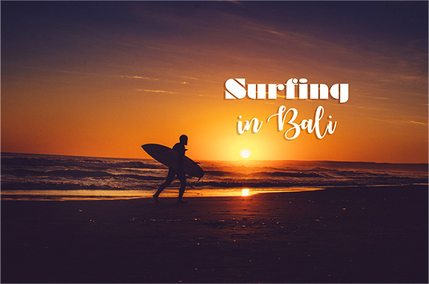 Fun and best way to learn how to surf in Bali