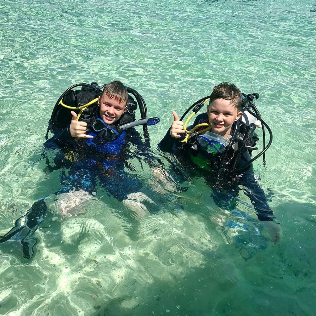 Enrol Kids to Junior Dive Class On Cruise!